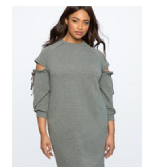 Eloquii Dresses & Skirts - Eloquii Cold Shoulder Dress